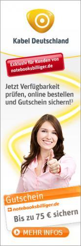 notebooksbilliger.de bis zu 75 Euro Gutschein sichern