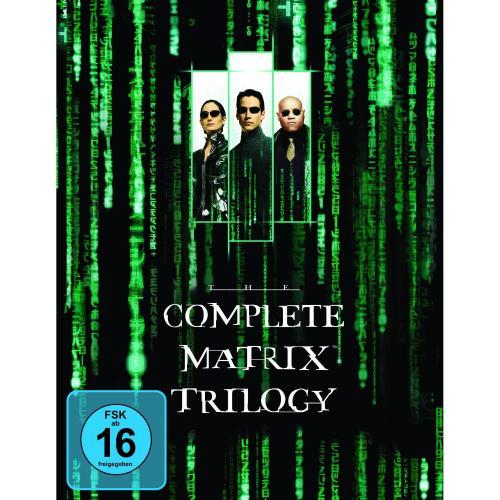 [BLU-RAY] Matrix - The Complete Trilogy @ Amazon.de für 14,97 EUR (oder im Zuge der Aktion 5-Tage-Film-Schnäppchen für 13,97 EUR)