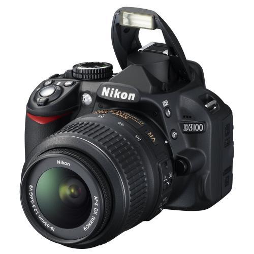 Nikon D3100 SLR-Digitalkamera Kit inkl. AF-S DX 18-55 VR Objektiv [Amazon WHD]