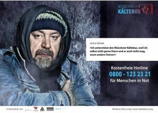 10€ Spende an den Münchner Kältebus