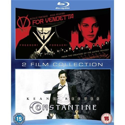 Blu-Ray Box - V wie Vendetta & Constantine (2 Discs) für €12.- [@Play.com]