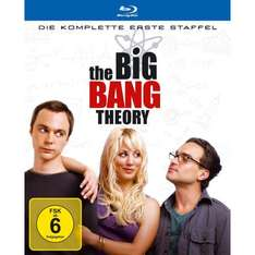 The Big Bang Theory Staffel 1-3 je 17,97€ inkl. Versand, Staffel 4 19,97€ [Bluray]