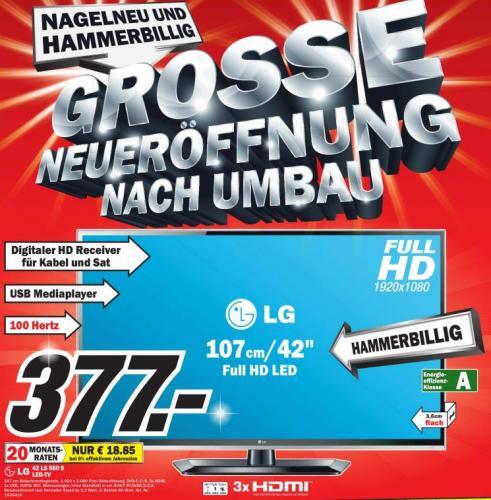 [Lokal MM Pirmasens] LG 42 LS560S MM Pirmasens