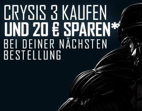 Crysis 3 kaufen und 20€ Rabatt für den nächsten Einkauf sichern (Origin)