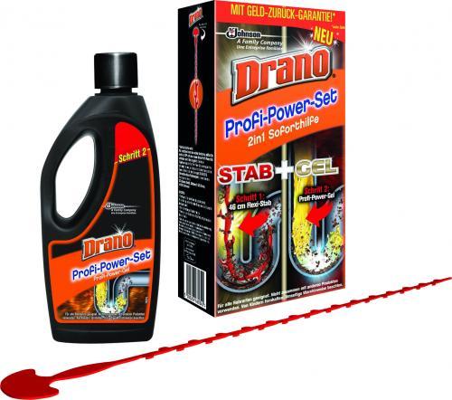 Drano Profi-Power Set Geld-Zurück-Garantie