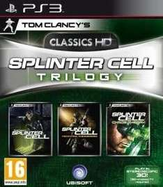 SPLINTER CELL TRILOGY [PS3] £8.98 10,31€