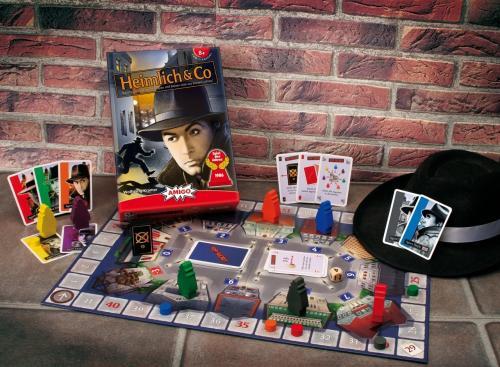 Heimlich & Co Gesellschaftsspiel für 16,95€ @ Bücher.de