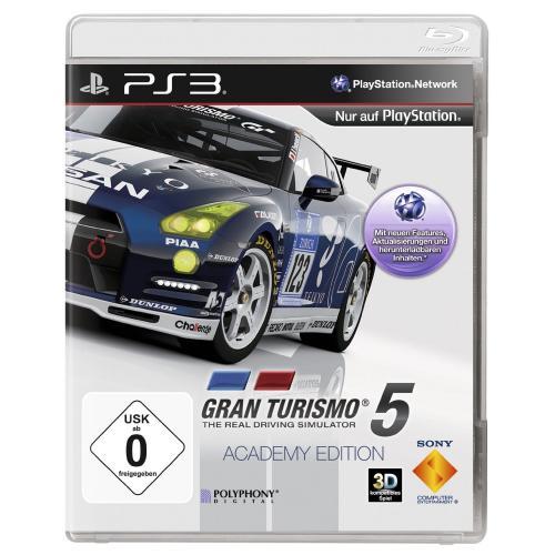 [PS3] Gran Turismo 5 Academy Edition (deutsch) für 16,99€ frei Haus