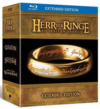 [Amazon] Der Herr der Ringe - Die Spielfilm Trilogie (Extended Edition) [Blu-ray]