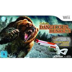 [Amazon] Cabela Dangerous Hunts 2013 inkl. Jagdgewehr - 360: 47€, Wii: 34,99€