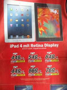 (Lokal) MM Landau (Pfalz) IPad 4 wifi+Cellular 449€