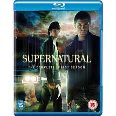 Supernatural - Season 1 Complete [Blu-ray] mit Dt. Ton inkl. VSK für 12,56 € @ amazon.uk