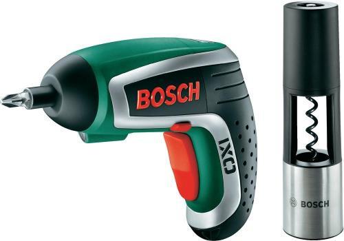 Bosch IXO Vino Akkuschrauber mit Korkenzieher (nutz man Qipu sogar nur 38 €) - voelkner
