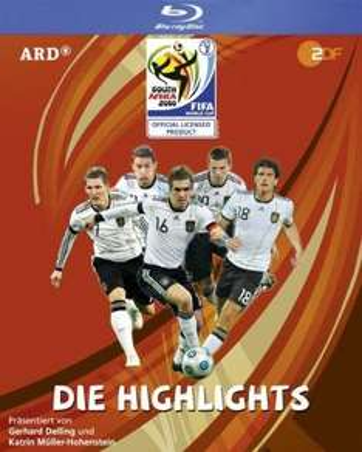 FIFA WM 2010 - DIE HIGHLIGHTS auf BLU-RAY für nur 2,79 EUR inkl. Versand