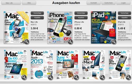 iPhone Magazin auf dem iPad für 0,89 Euro