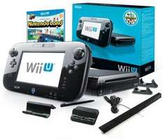 Nintendo™ - Wii U 32GB Konsole Premium Pack (Black) für €252,85 [@Amazon.it]