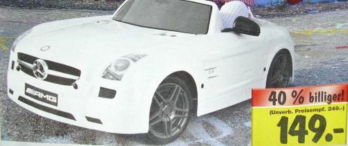 Mercedes-Benz SLS AMG @ Kaufland [lokal NSU]