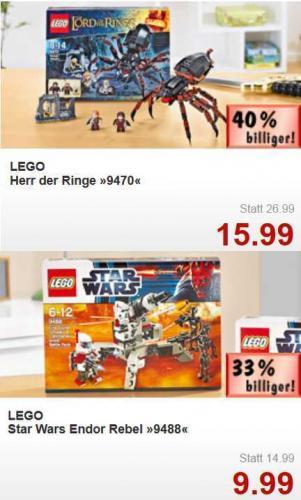 Lego LOTR bzw. Lego Star Wars @ Kaufland [lokal NSU]