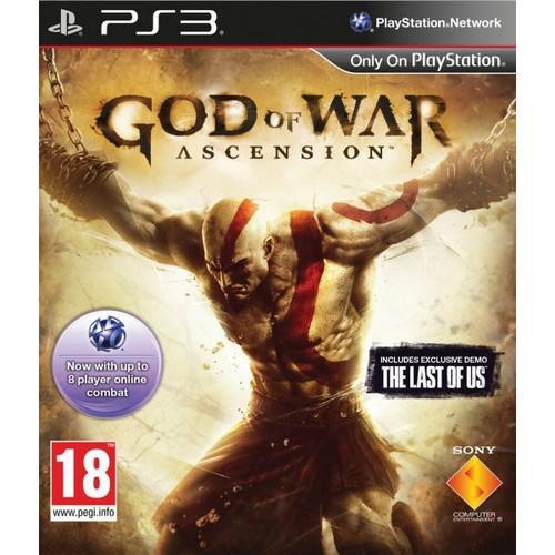 PS3 - God Of War Ascension + Demo Spiel The Last of Us für nur 49,99 EUR inkl. Versand