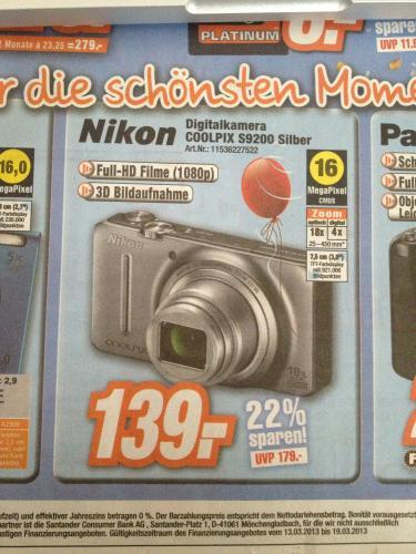 [lokal] Nikon Coolpix S9200