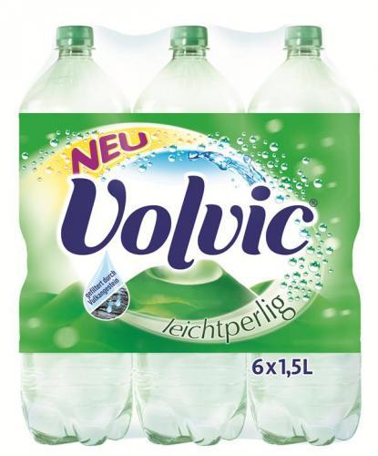 Volvic Leichtperlig Mineralwasser (6er Pack 1,5l) für 1,99€ zzgl.1,50 Pfand Thomas Phillips