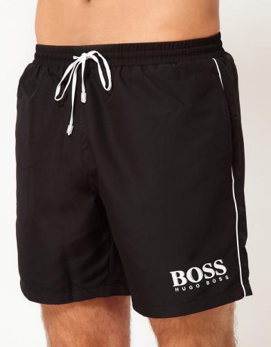 "Boss Black™ - Herren Badeshorts ""Starfish"" (Schwarz) für €23,02 [@Asos.de]"