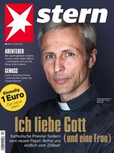 """Offline: Zeitschrift """"stern"""" morgen (14. März 2013) für 1 Euro statt 3,50 Euro"""