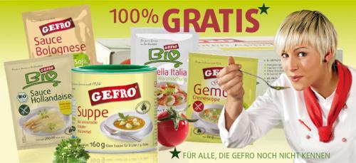 GEFRO - Gratis Kostprobem (Probierpaket)