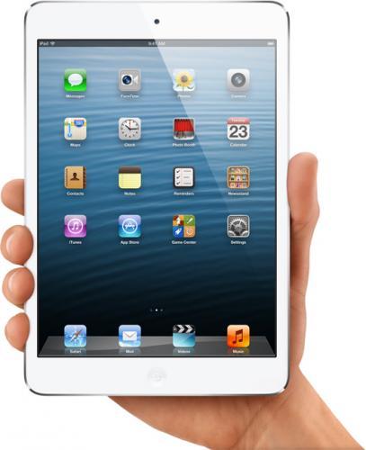 Apple iPad mini 16 GB Wi-Fi + Cellular (white)  incl Base vertrag für 423€