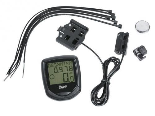 [LIDL - online + Filiale] CRIVIT Fahrradcomputer mit Hindergrundbeleuchtung, Thermometer u.v.m. für 3,99 EUR