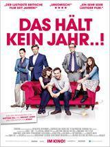 """Kinotickets für Film: """"Das hält kein Jahr..."""" [Jeder 3. Anrufer gewinnt 2 Karten] - am 15. April um 20 Uhr ................. [Berlin, Dresden, Düsseldorf, Frankfurt a.M., Hamburg, Köln, Leipzig, München, Nürnberg, Stuttgart]"""