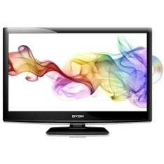 Schlafzimmer TV ! Dyon Sigma 24, (23,6 Zoll) LED-Backlight Energieeffizienzklasse A (Full HD, DVB-T/S2, CI, DVD Player)