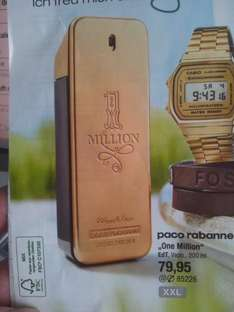 "GALERIA Kaufhof --> paco rabanne ""One Million"" EdT, 200 ml für 79,95"