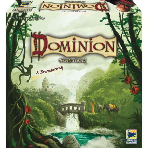 Dominion Hinterland - 5. Erweiterung (Strategiespiel) für 21,19€ inkl. Versand @ Amazon