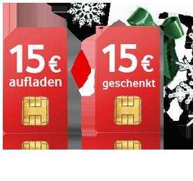Vodafone CallYa Freikarte (Prepaid) – 1 € Guthaben geschenkt - keine Ausweisdaten erforderlich!!!