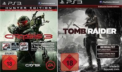 [Lokal Kiel] Crysis 3 Hunter Ed. & Tomb Raider Exklusiv Ed. für PS3 je 39€ @Saturn