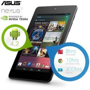 ASUS / Google Nexus 7 16GB Android 4.2 Tablet (refurbished)