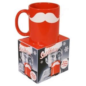 (UK) Santa Moustache Mug Tasse für 8.10€ @ Zavvi