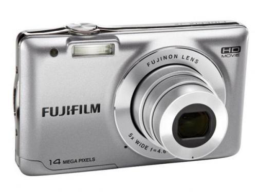 14 Mega Pixel Fujifilm JX490 in silber für nur 39,99 EUR inkl. Versand [Vorführgerät / 12 Monate Gewährleistung]