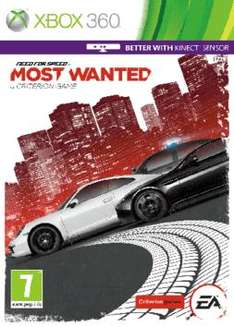 "(UK/Game Xbox360/PS3) ""Deal Of The Day"" Need For Speed Most Wanted"