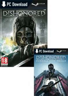 [Steam] Dishonored Bundle inkl. DLC für ca. 20€ @Game.co.uk (PC-Download)