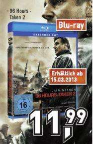 [lokal] 96 Hours Taken 2 Blu-Ray @Berlet