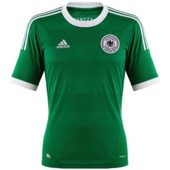 DFB Trikot Away 2012 grün/weiß Kindergröße 152 - 14,95 €