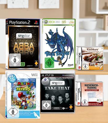 Kaufland - Konsolenspiele ab 5 Euro - Wii - PS3 - PS2 - Xbox360