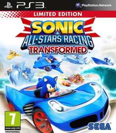 XBox 360/PS3 - Sonic & All-Stars Racing Transformed (Limited Edition) für €15,58 [@TheHut.com]