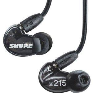 Shure SE-215 K E Black Professional In-Ear Ohrhörer