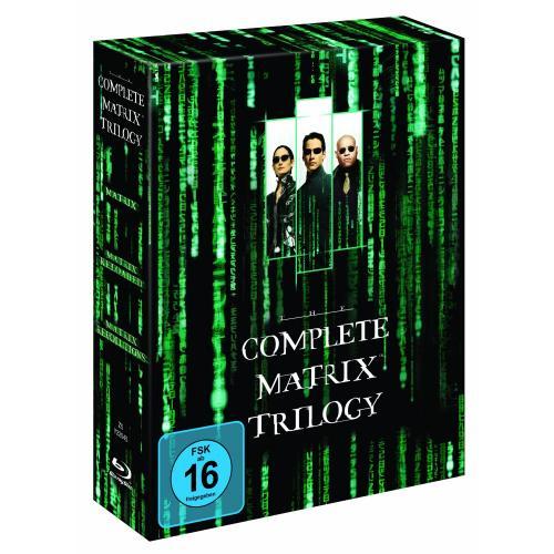 [Offline, Lokal?] Matrix Trilogie Blu-Ray bei REAL (Mannheim Vogelstang) für 14,99 mit Personalrabatt sogar nur 12,14