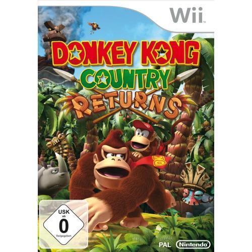 Donkey Kong Returns für WII @amazon WHD