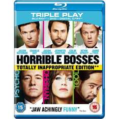 play.com: Kill the Boss/Horrible Boses Triple Play (Blu-ray/DVD/Download) für 5,75€