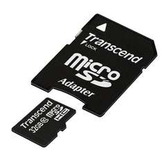 Transcend Extreme-Speed 32GB Micro SDHC Class 10 für 18,39€ @Amazon